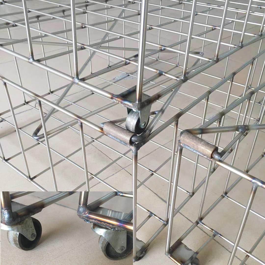 不锈钢篮子尺寸订做 厂家直销 超声波清洗机配套 清洗槽水槽底架网框 广州超声波