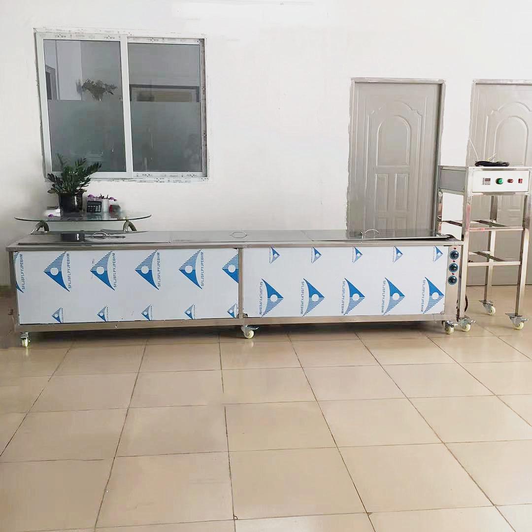 超声波清洗机定制铜管不锈钢管道油污灰尘清洗机设备